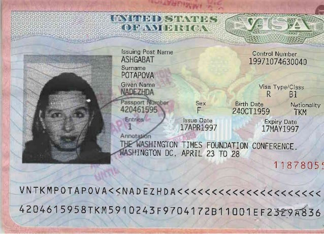 pasport visa h1
