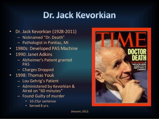 Jack Kevorkian Quotes Pas Power Point Final