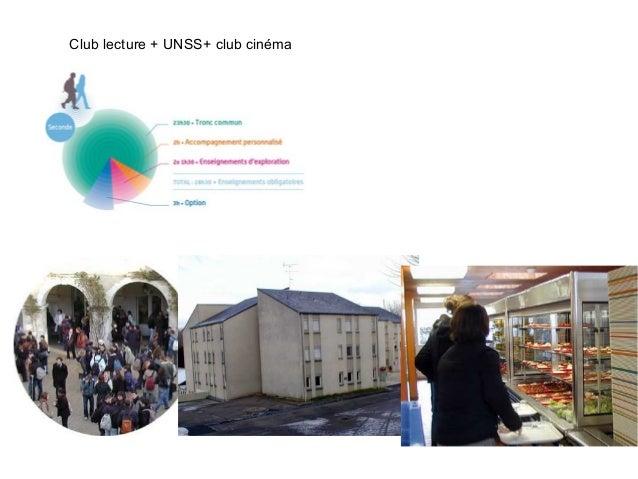 Club lecture + UNSS+ club cinéma