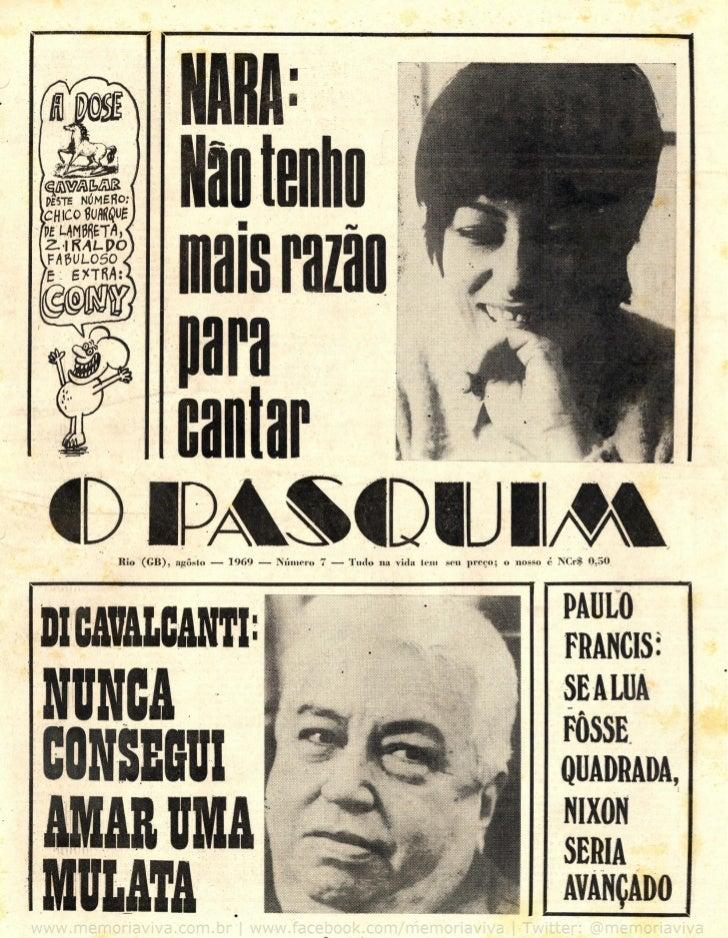 Pasquim Nara Leão - 1969