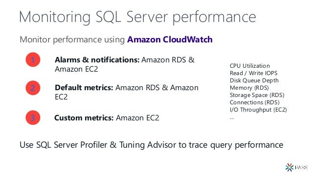 PASS 17: RDS SQL Server on Amazon Web Services Overview