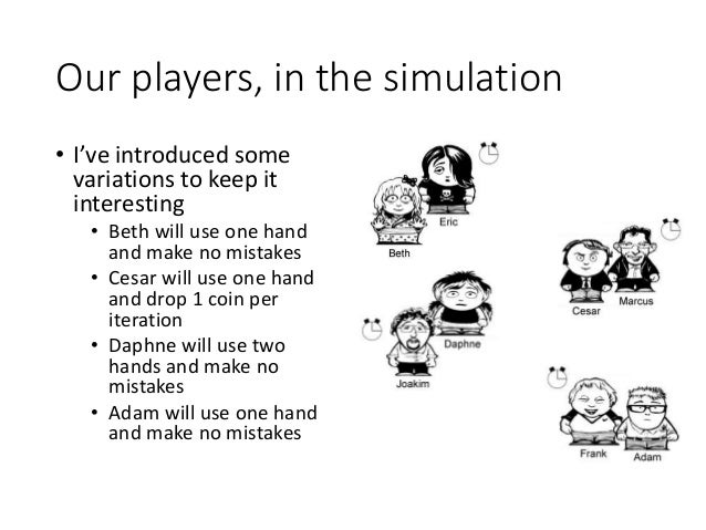 Pass the pennies - Lean game simulation