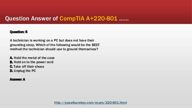 Comptia a+ exam questions and answers 2014 pdf
