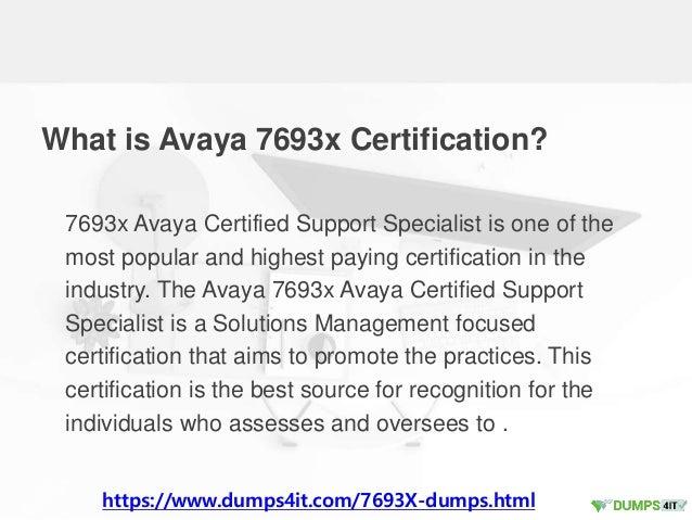Pass 7693x Avaya Solutions Management Exam Braindumps In First Attempt