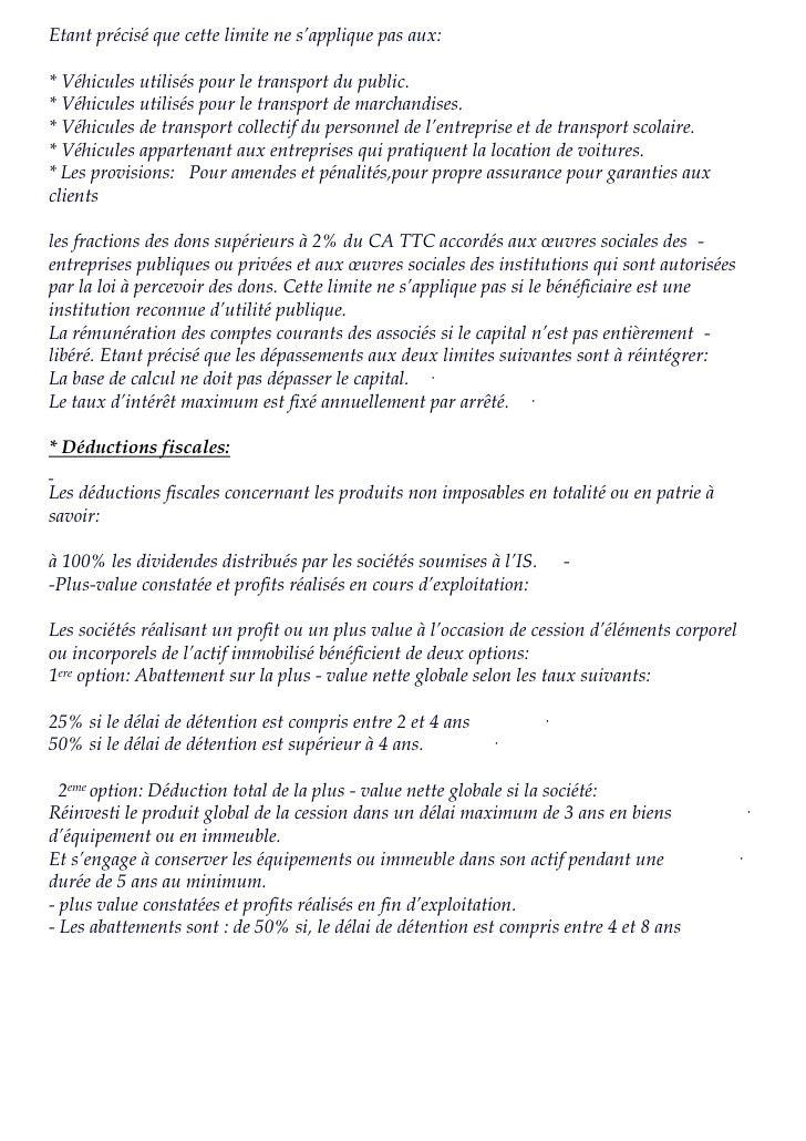 Passage du bilan comptable au bilan fiscal 1 for Portent of passage 1