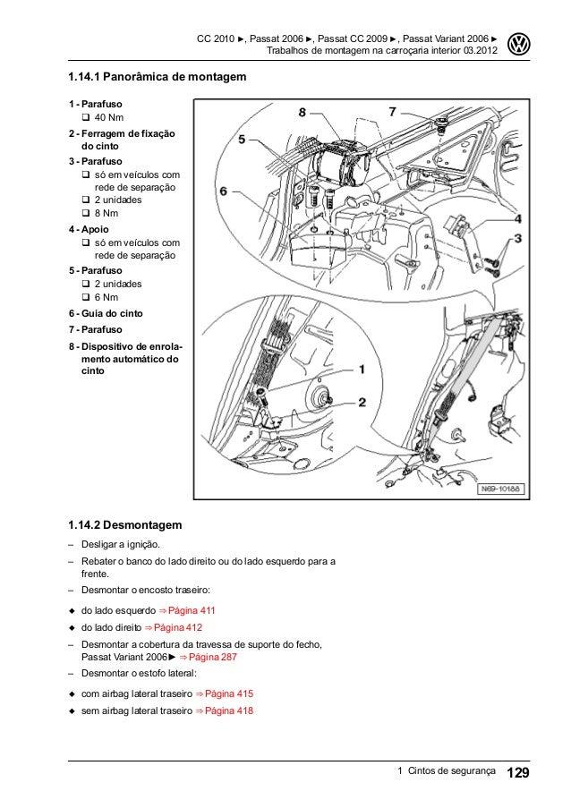 Passat 2006-cintos 03.2012-manual-de-reparos