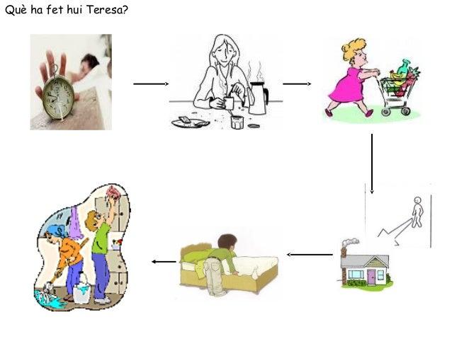 Què ha fet hui Teresa?