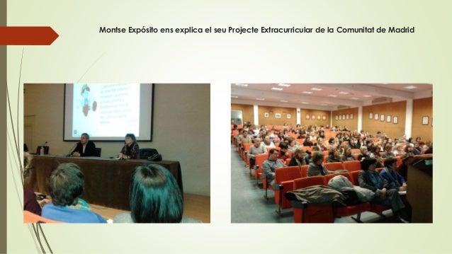 Montse Expósito ens explica el seu Projecte Extracurricular de la Comunitat de Madrid
