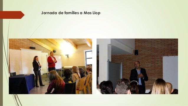 Jornada de famílies a Mas Llop