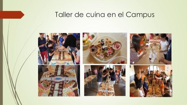 Taller de cuina en el Campus