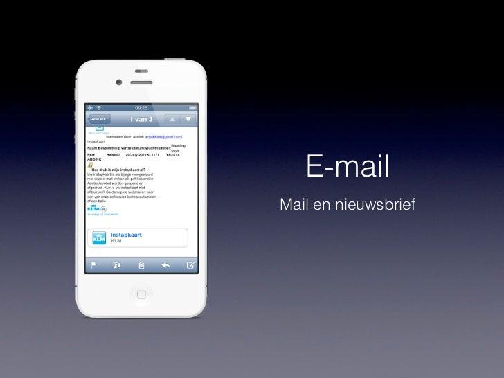 Passbook• Herfst 2012• Inbegrepen bij iOS 6
