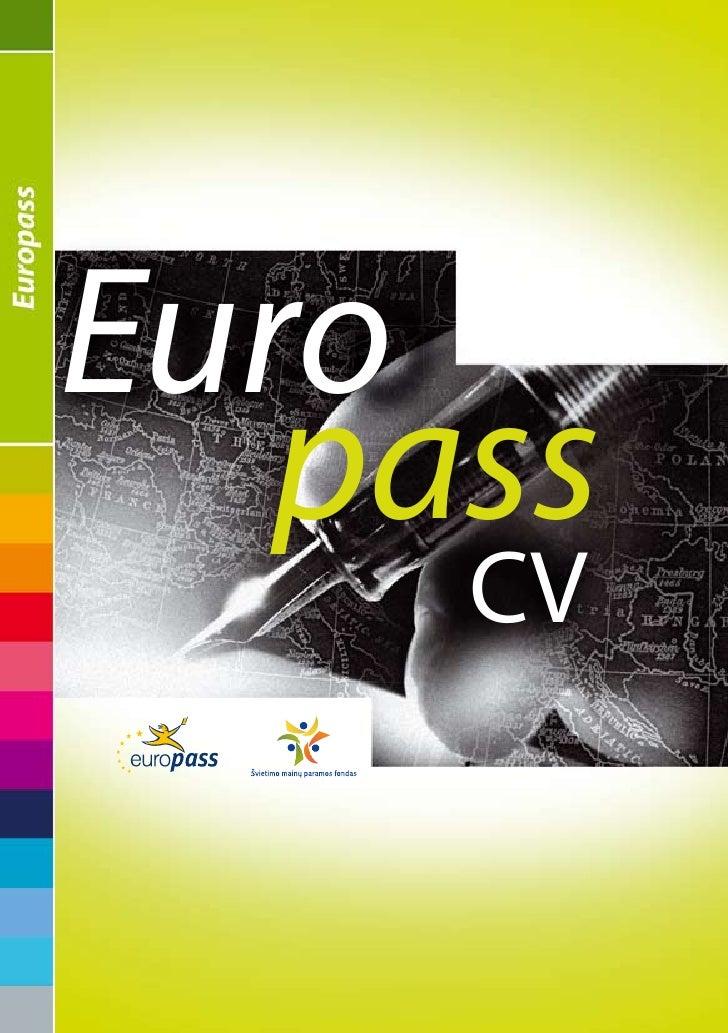 europass cv