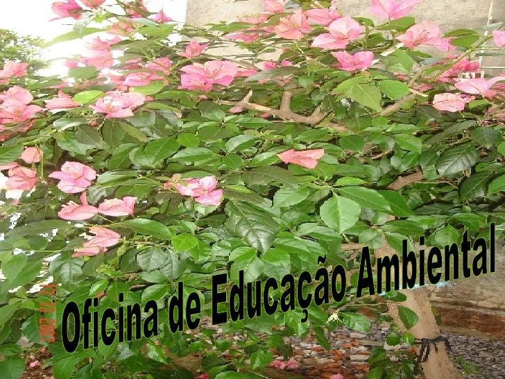 Oficina de Educação Ambiental