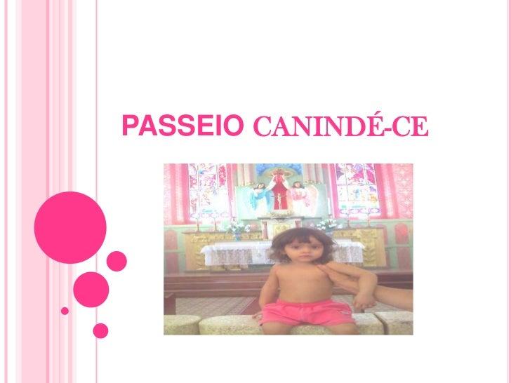 PASSEIO CANINDÉ-CE<br />