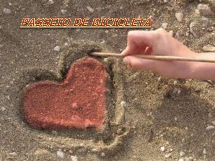 PASSEIO DE BICICLETA<br />