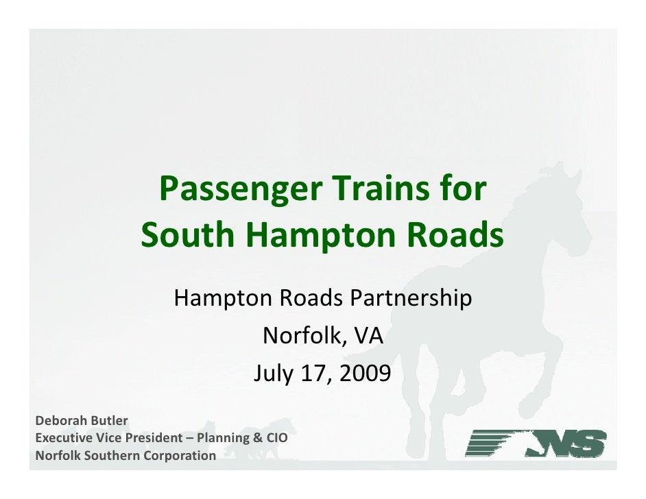 PassengerTrainsfor                  SouthHamptonRoads                       HamptonRoadsPartnership                ...