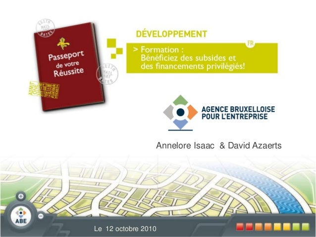 Annelore Isaac & David Azaerts Le 12 octobre 2010