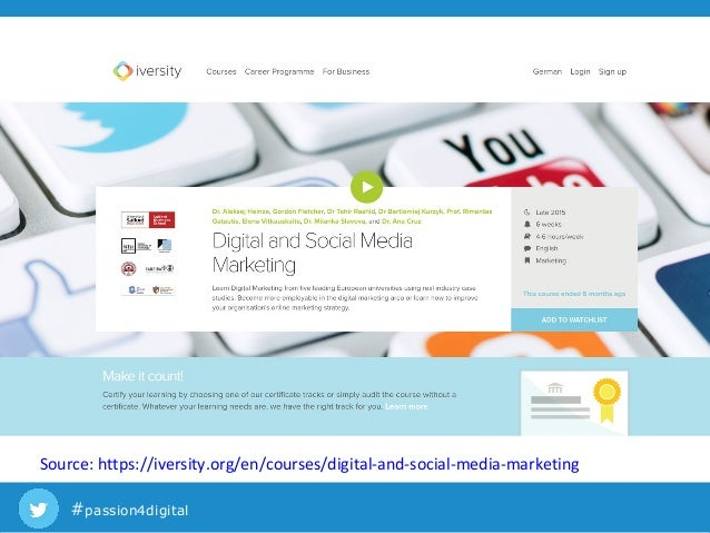 Digital Marketing Masters Programs Online