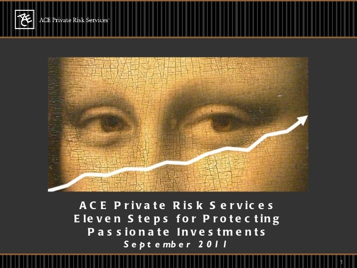 ACE Private Risk Services Eleven Steps for Protecting Passionate Investments September 2011