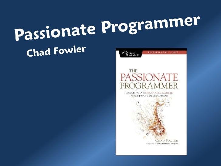 Passionate programmer - Parte 1