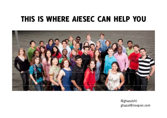 Passion finder for aiesec