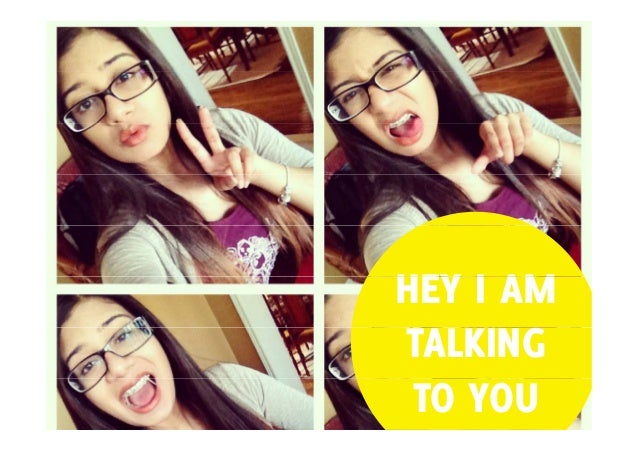 HEY I AM TALKING TO YOU