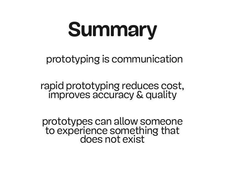 Passion for projects  - using prototypes to sell innovate and specify
