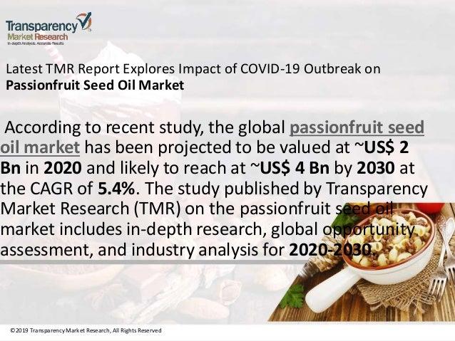 Passionfruit seed oil market Slide 3