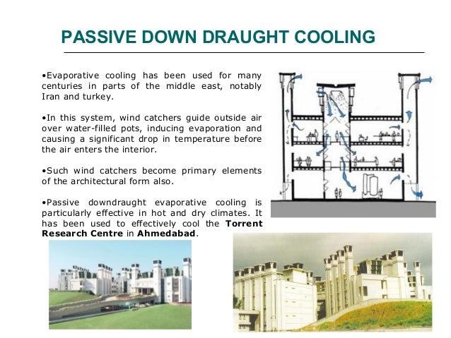 passive cooling. Black Bedroom Furniture Sets. Home Design Ideas
