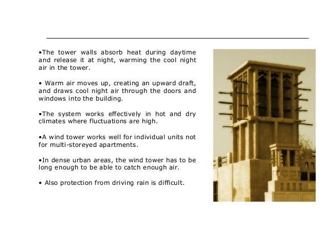 passive cooling techniques in buildings pdf