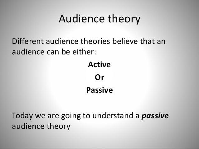Passive audiences Slide 3