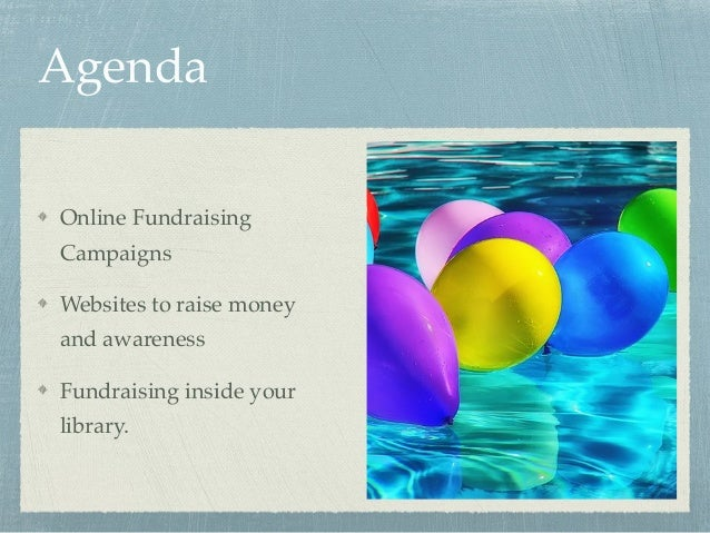 Passive Fundraising for Friends and Libraries Slide 2