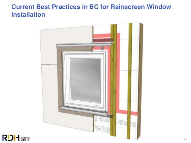 The Tradition and Science of Window Installations - Where are We Head…