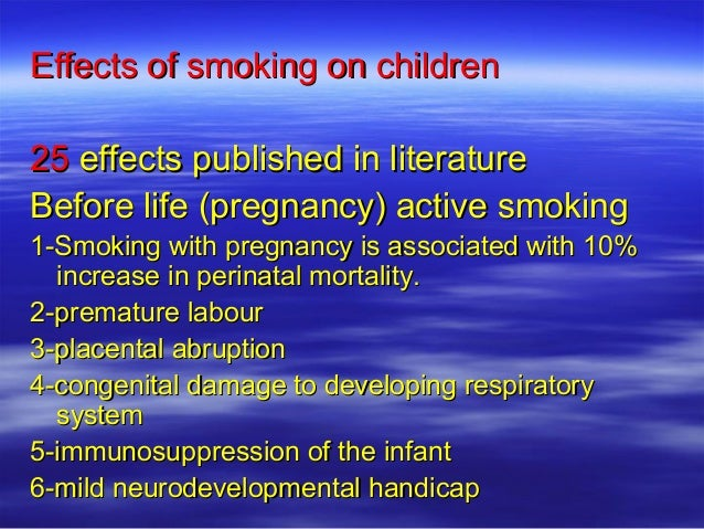 effect of active and passive smoking What are the harmful effects of passive smoking  it encourages active smoking, because in some situations, the smell cigarette or cigar smoke is attractive.