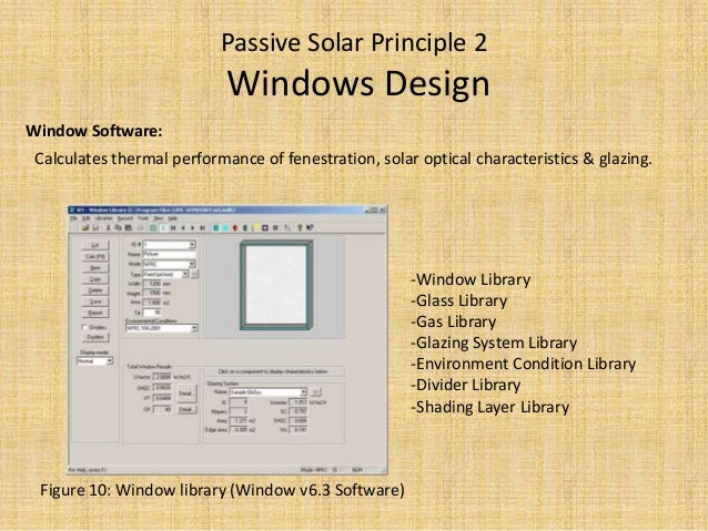Cool Passive Solar Design By Software Largest Home Design Picture Inspirations Pitcheantrous