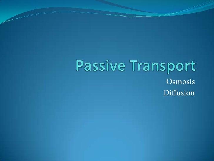 OsmosisDiffusion