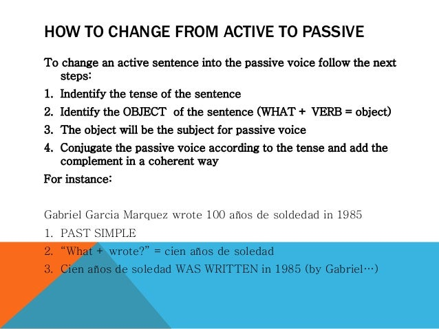 how so that you can transform passive tone that will energetic voice