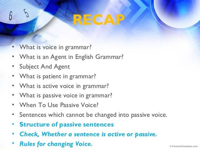 Passive Voice Part 2