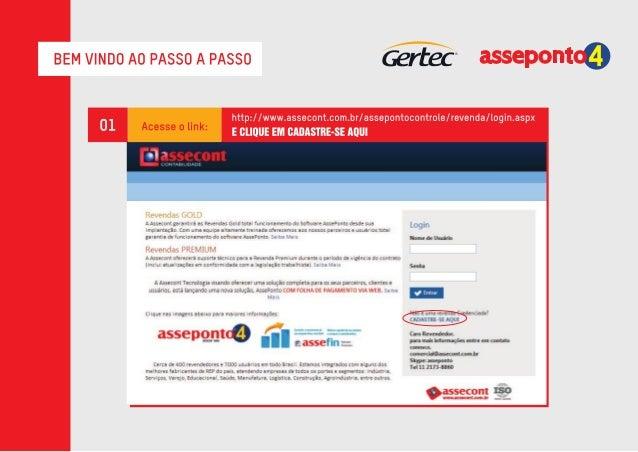 Passo-a-passo | Software REP da Gertec