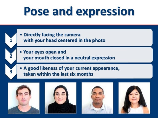 You in photo passport can smile