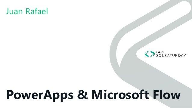 The business today - PowerApps, Power BI y Microsoft Flow