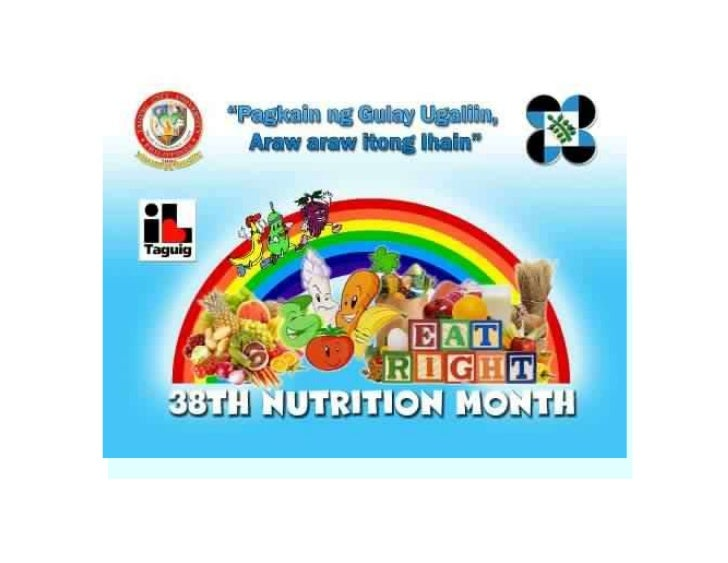 tcu nutrition month introductionjuly is celebrated nationwide on the barangay municipal city provincial