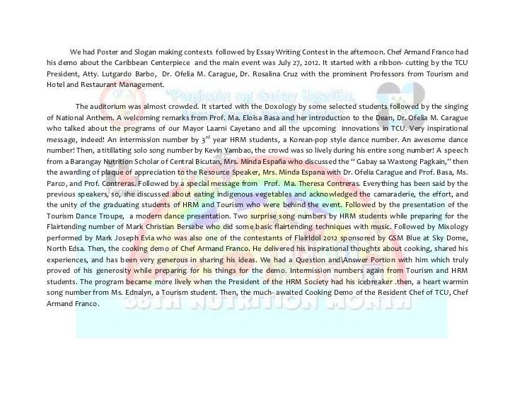 essay tungkol sa nutrition month 2014 tagalog