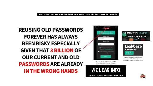 Securing the enterprise with Password Coach
