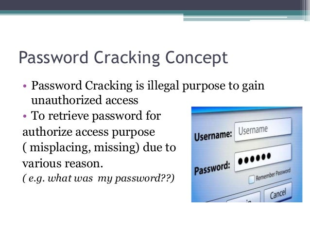 Password cracking and brute force