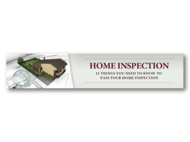 According to industry experts, there are over 33 physical problems that will come under scrutiny during a home inspection ...