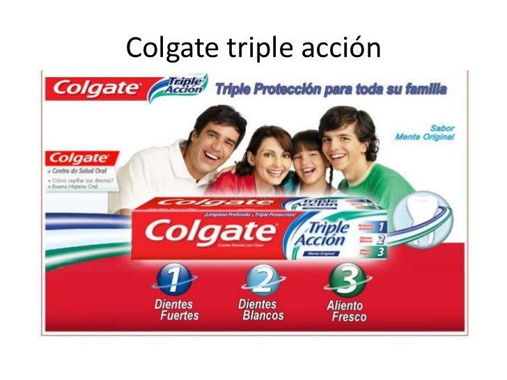 Colgate triple acción<br />