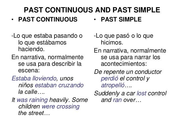 Past Continuous Exercises Pdf