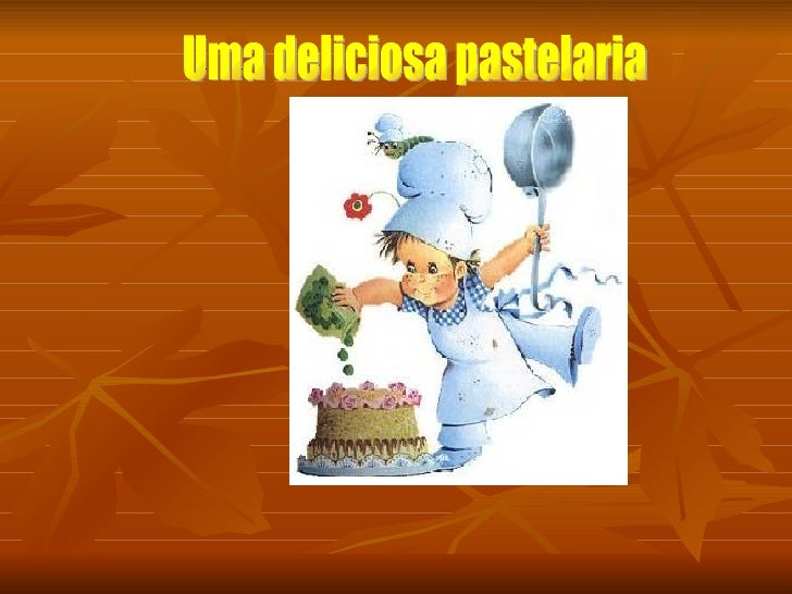 Uma deliciosa pastelaria