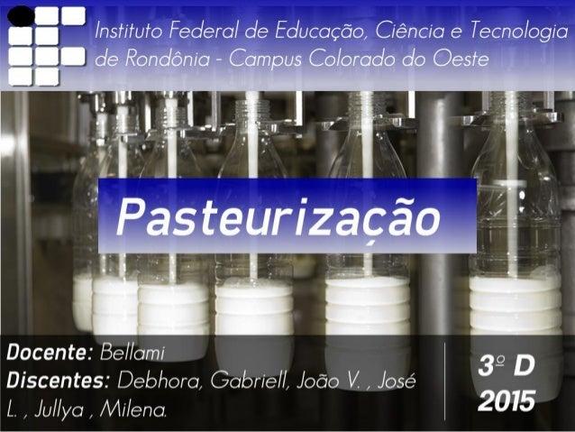 7°. » à / nsfifufo Federal de Educação,  Ciência e Tecno/ ogia   de Rondônia - Campus Colorado do Oeste          ÉÃ .  -| ...